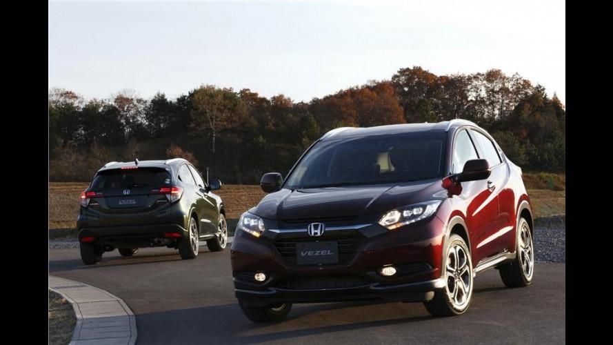 Andar de cima: Honda Vezel nacional não vai mirar no EcoSport