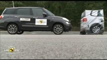 EuroNCAP: veja os sistemas de frenagem automática em ação