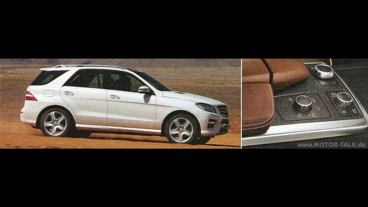 Novo Mercedes-Benz ML 2012 é revelado antes do previsto