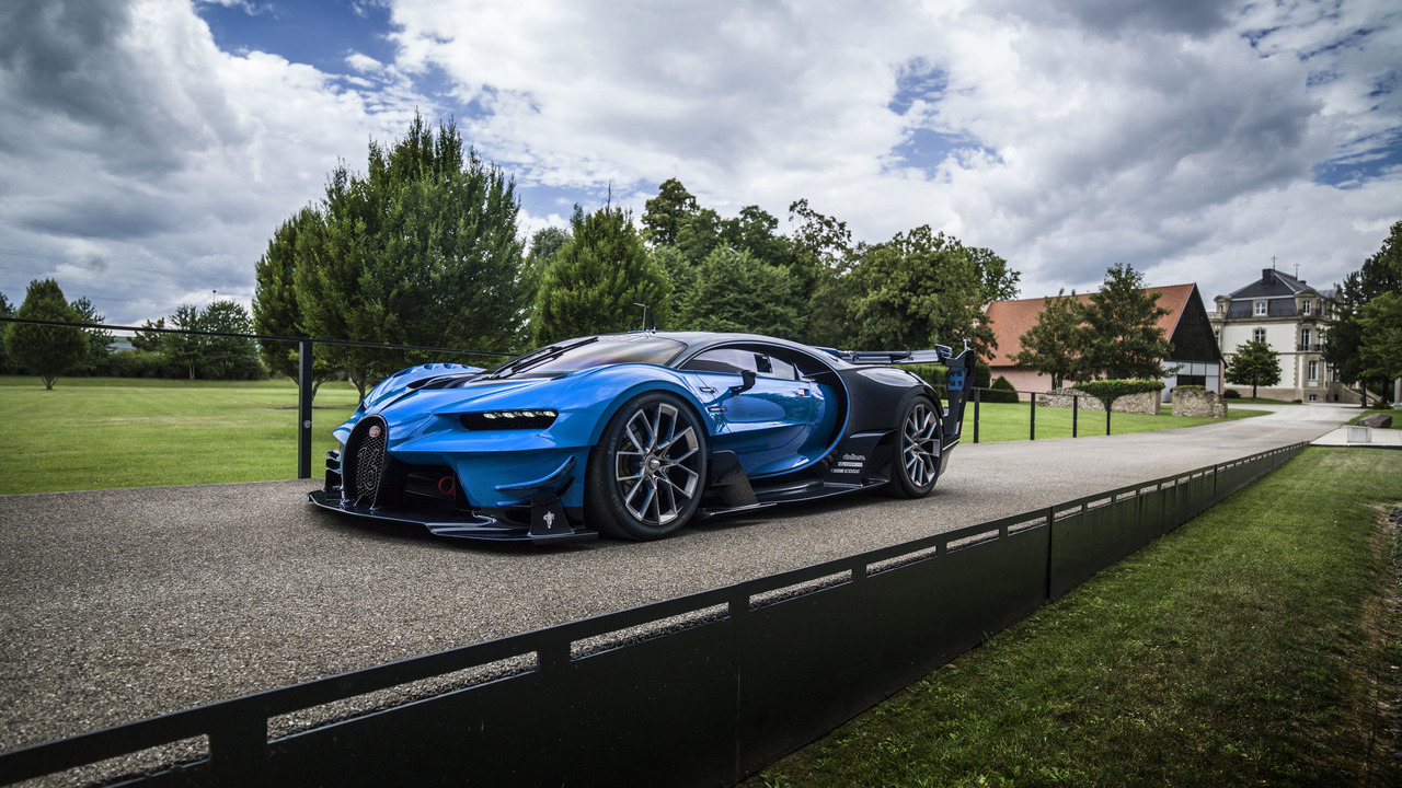 Bugatti Chiron and Vision Gran Turismo