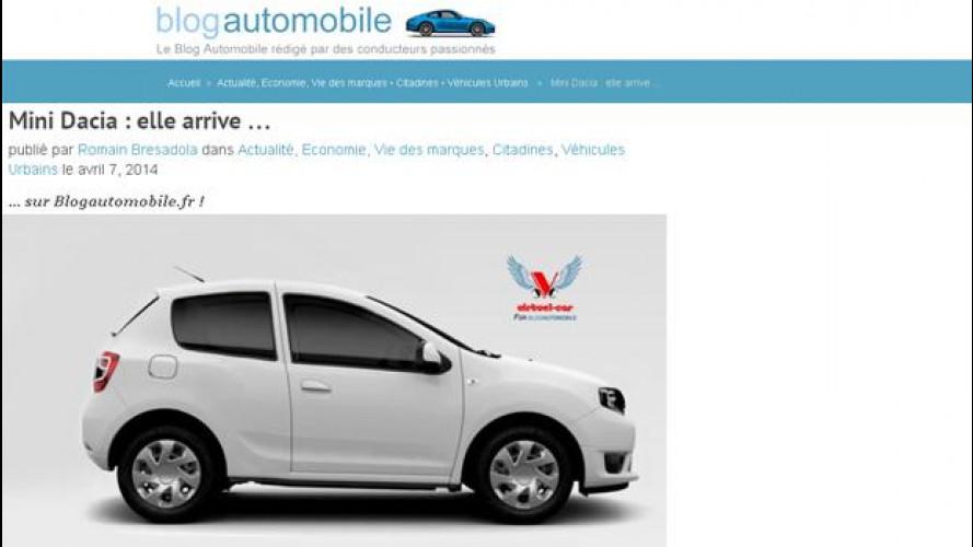 """Mini Dacia"", in arrivo una super utilitaria low cost"