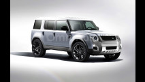 Nuova Land Rover Defender, il rendering