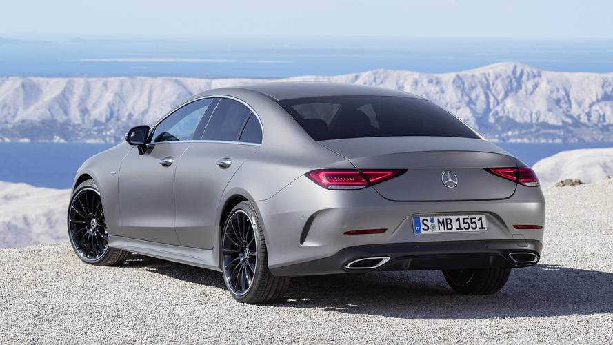 mercedes reveals new cls coupe it 39 s sharper than ever before. Black Bedroom Furniture Sets. Home Design Ideas
