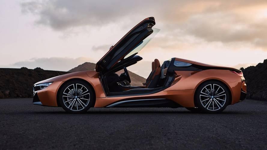 BMW i8 Roadster 2018: un híbrido enchufable, descapotable y atractivo