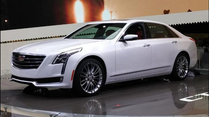 Salone di New York: Cadillac CT6, l'ammiraglia