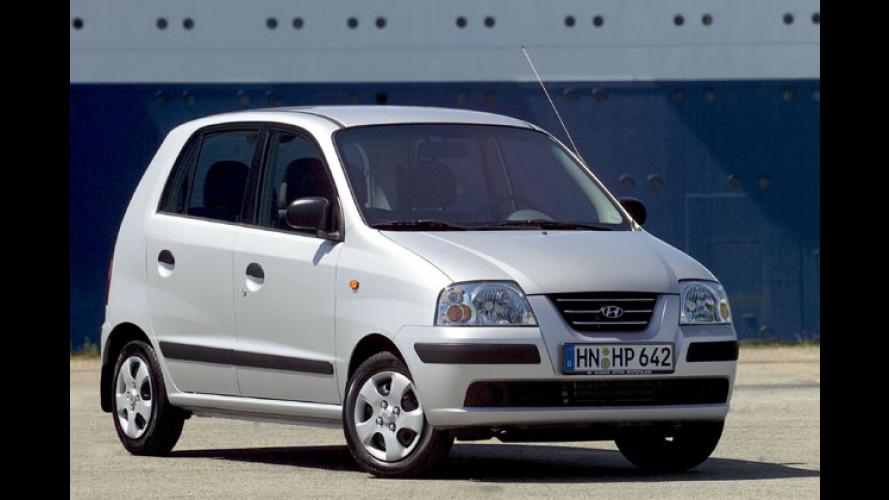 Hyundai Atos: Sondermodell EM-Star als Schnäppchen