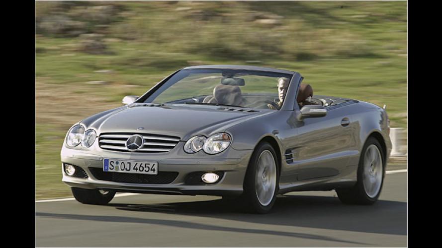 Neuer Mercedes SL kommt mit deutlich stärkeren Motoren