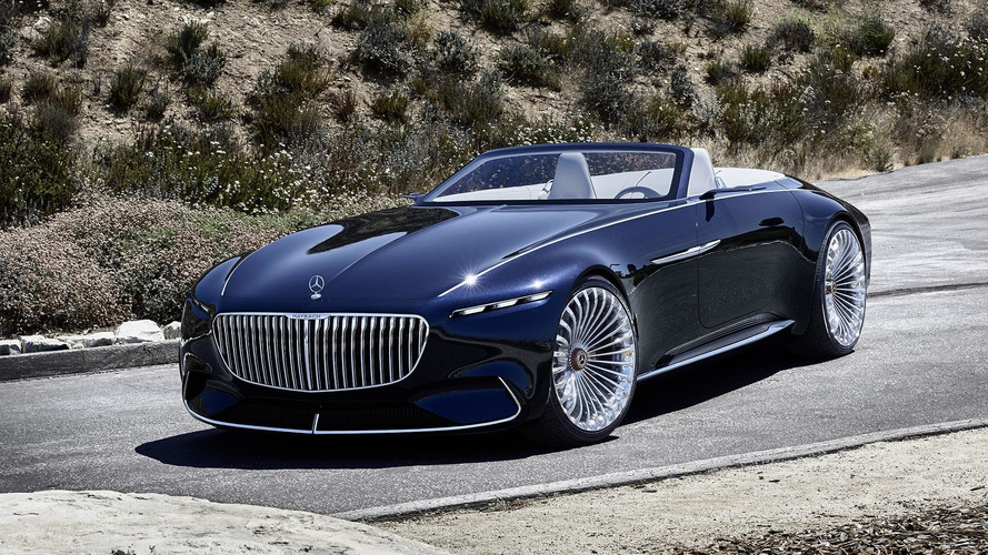 Vision Mercedes-Maybach 6 Cabriolet - Luxueuse électrique