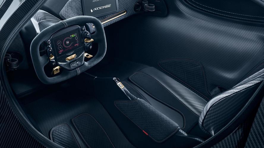 Aston Martin Valkyrie neredeyse hazır