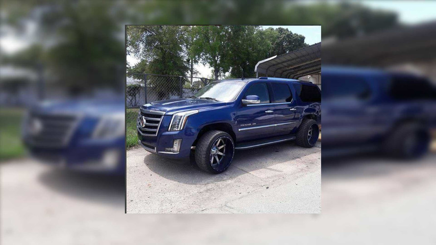Florida Man Grafts 2017 Front End On 2007 Cadillac Escalade