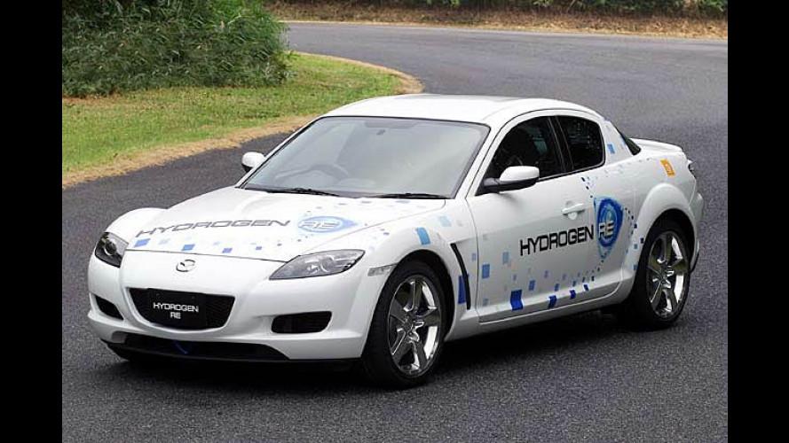 Mazda: Sportwagen RX-8 mit Wasserstoffantrieb