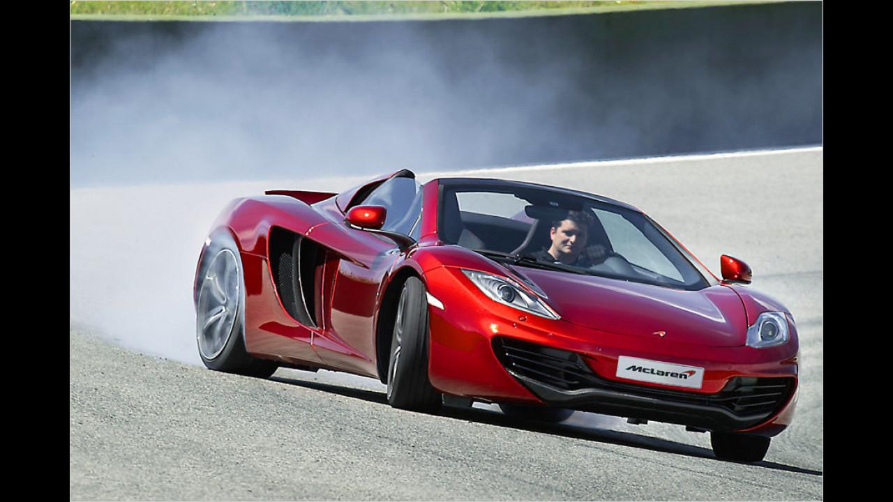 McLaren künftig auch offen