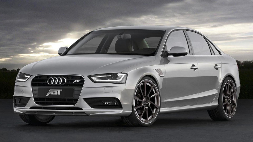 ABT tunes the facelifted Audi A4