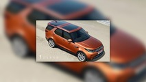 2017 Land Rover Discovery leaked official images