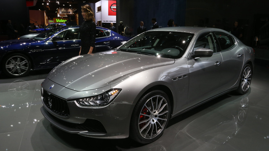 Maserati Ghibli 2016 Mondial de l'Automobile