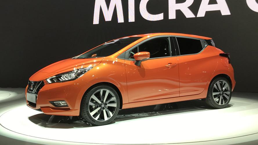 2017 Nissan Micra radikal stili ve akıllı teknolojisi ile tanıtıldı