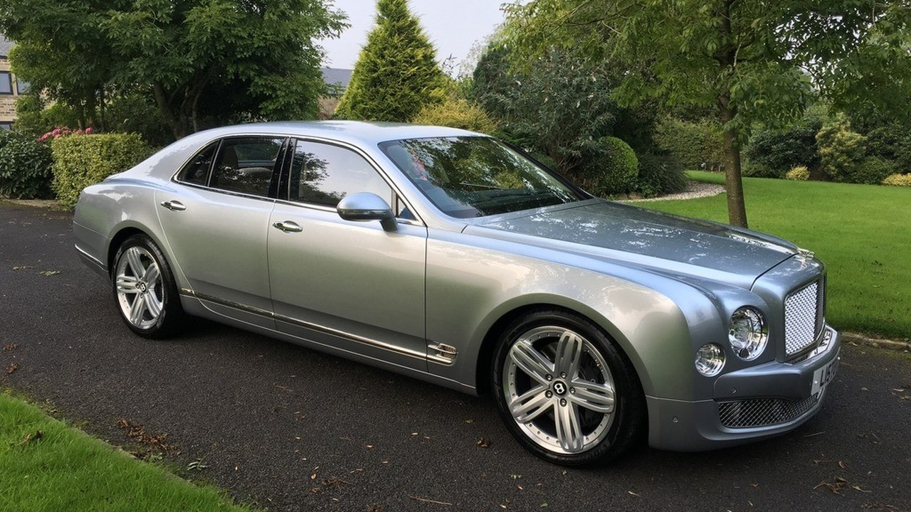 Lister CEO selling his Bentley Mulsanne on eBay without ...
