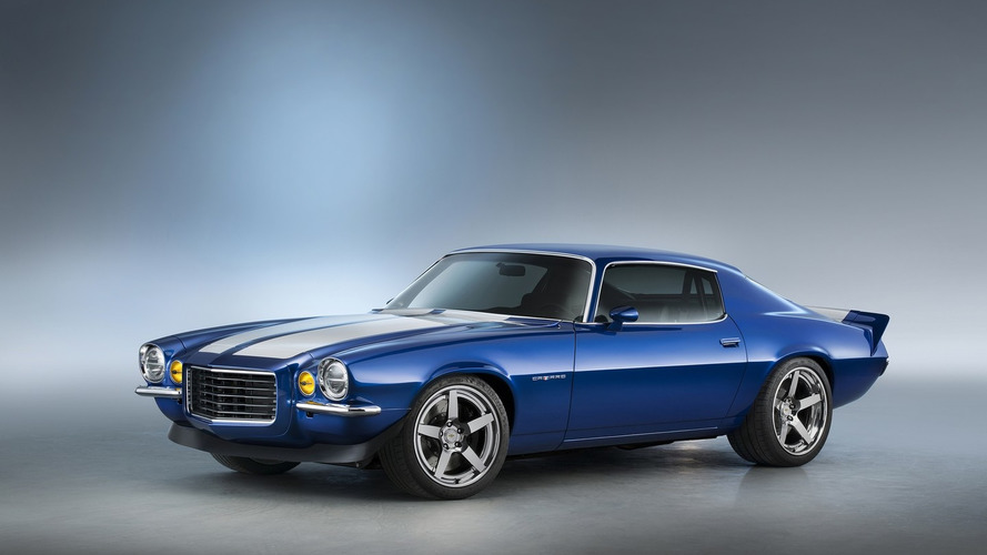Chevrolet supercharges 1970 Camaro RS for SEMA