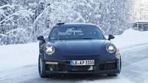 2020 Porsche 911 Turbo spy photo