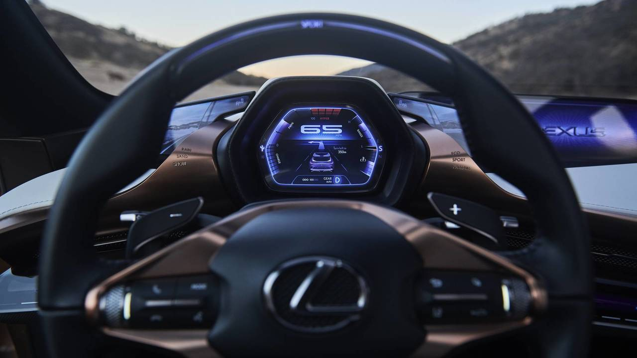 Lexus Lf 1 Limitless Concept Photo