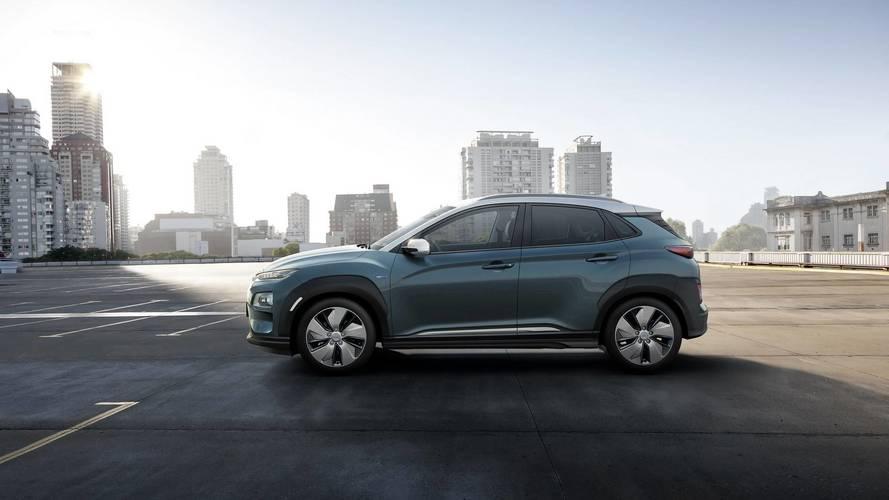 Kona Electric néven debütált a Hyundai elektromos SUV-ja