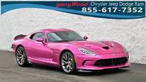 2017 Dodge Viper Metallic Pink