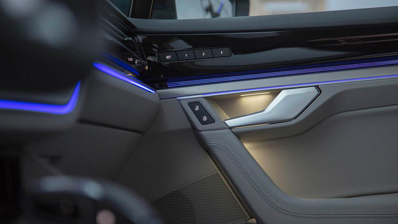 Neuer VW Touareg: Feine Materialien