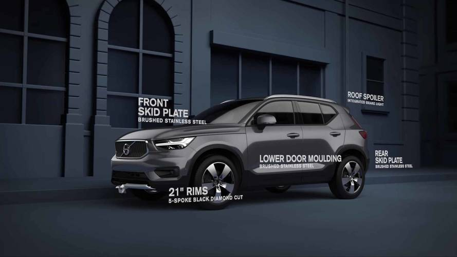 Volvo XC40 Gets Handsome Exterior Styling Kit To Dress Up Looks