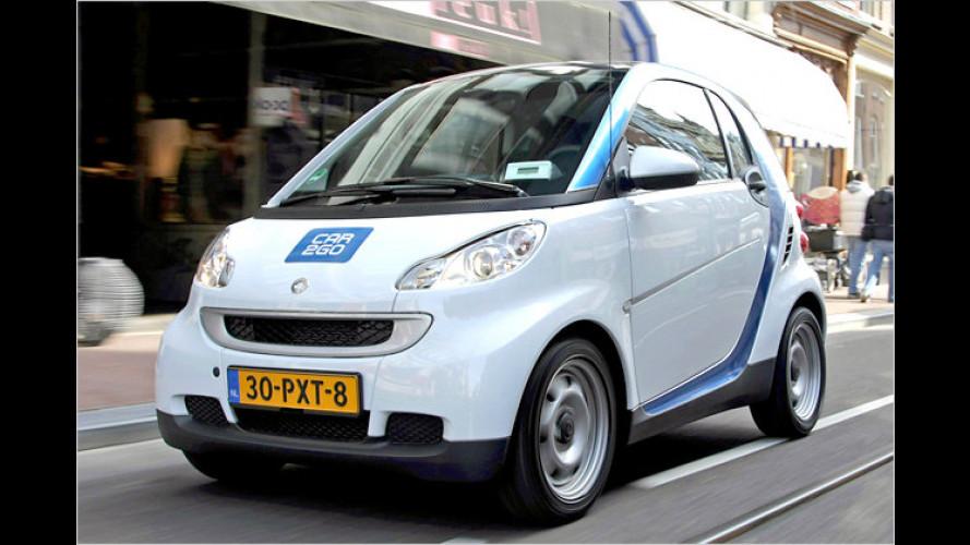 Daimler startet mit der ersten Elektro-Flotte in Amsterdam