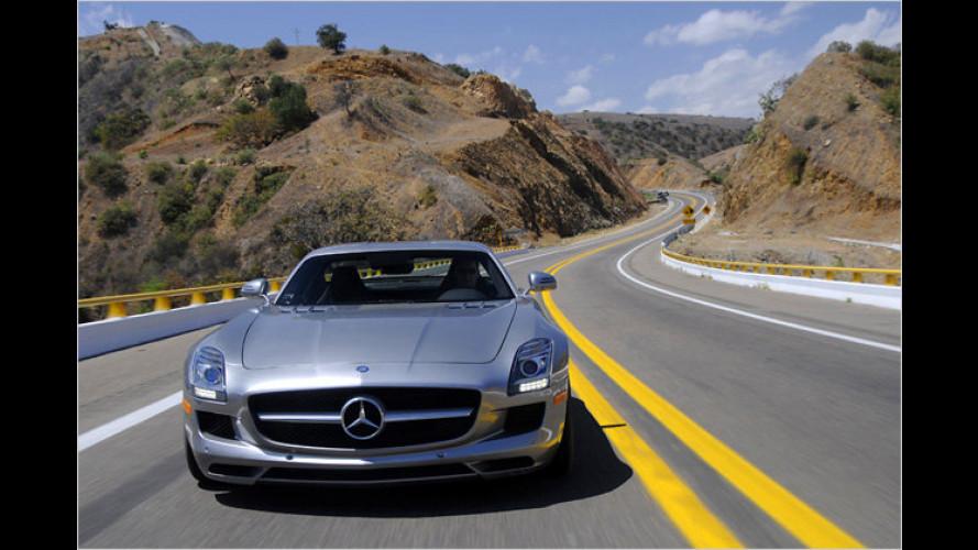 Carrera Panamericana: Mercedes SLS und 300 SL