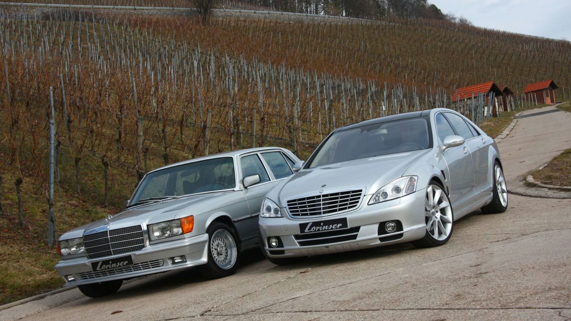 Lorinser puts up tuned 450 sel 6 9 w116 for sale for Mercedes benz official site usa