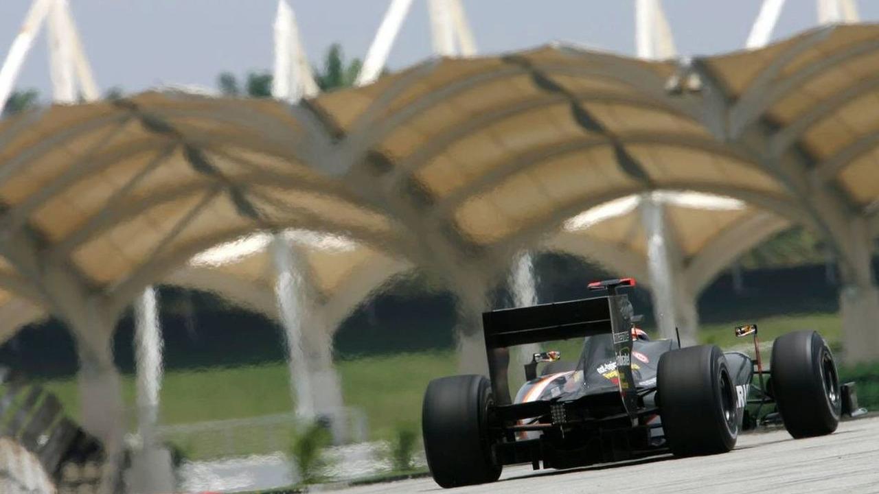 Karun Chandhok (IND), Hispania Racing F1 Team HRT, Malaysian Grand Prix, 02.04.2010 Kuala Lumpur, Malaysia