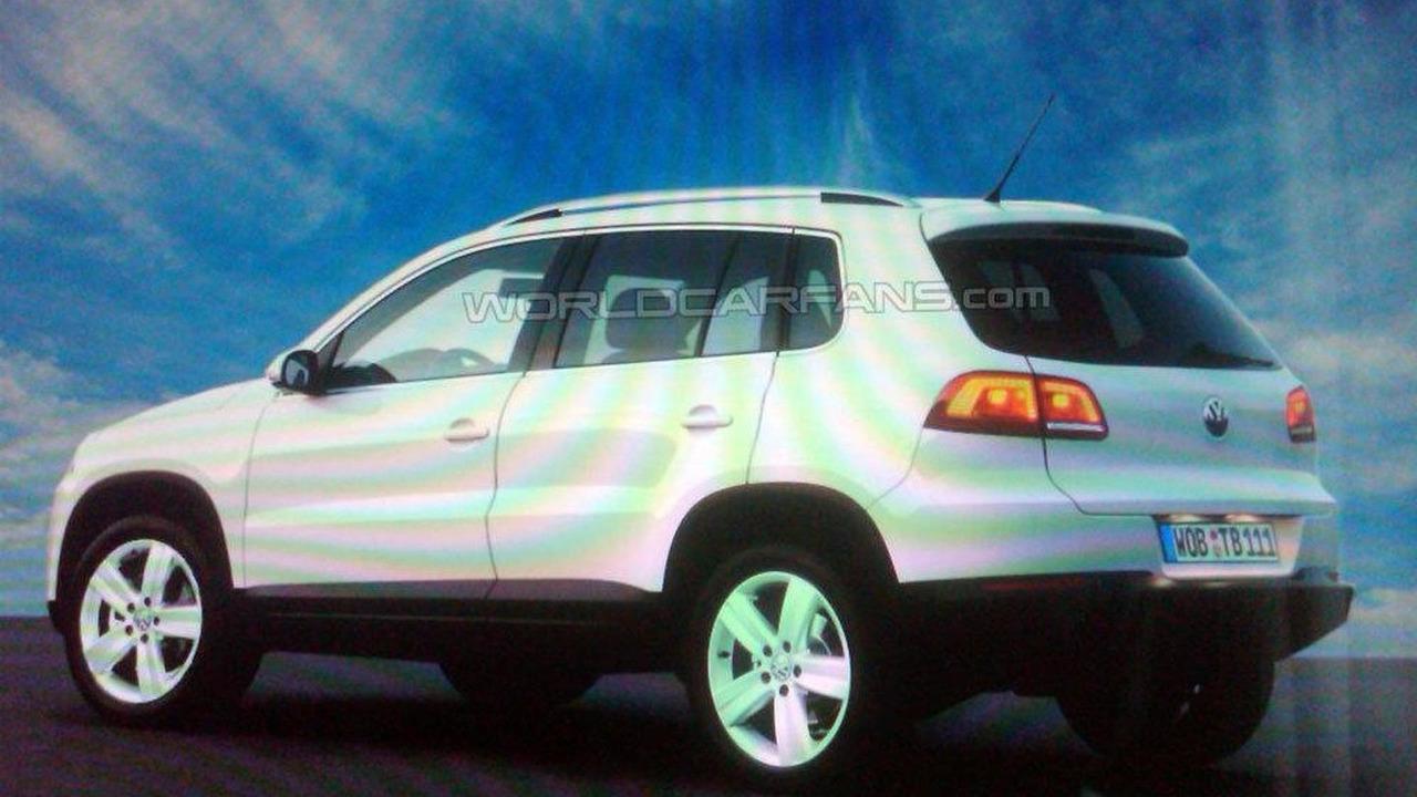 Volkswagen Tiguan facelift rear three-quarter brochure leaked photo, 1000, 15.06.2010