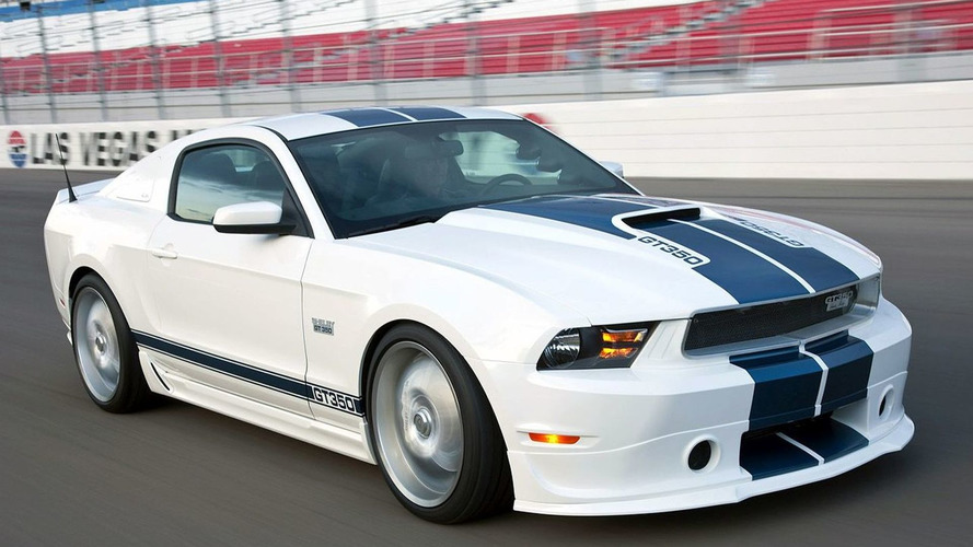 2011 Shelby GT350 Mustang Revealed at Barrett Jackson Auction