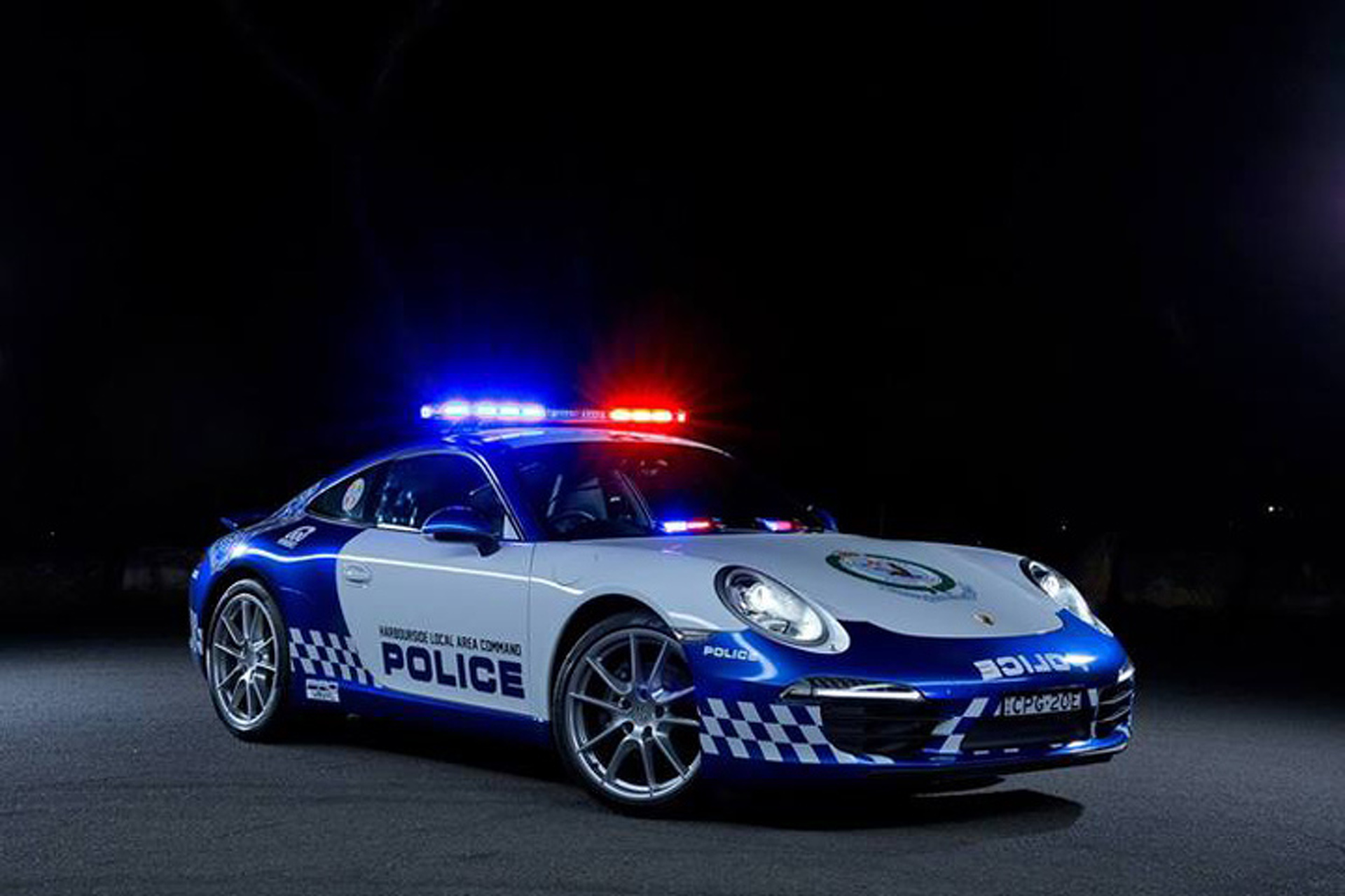 Australian Police Got a New Porsche 911