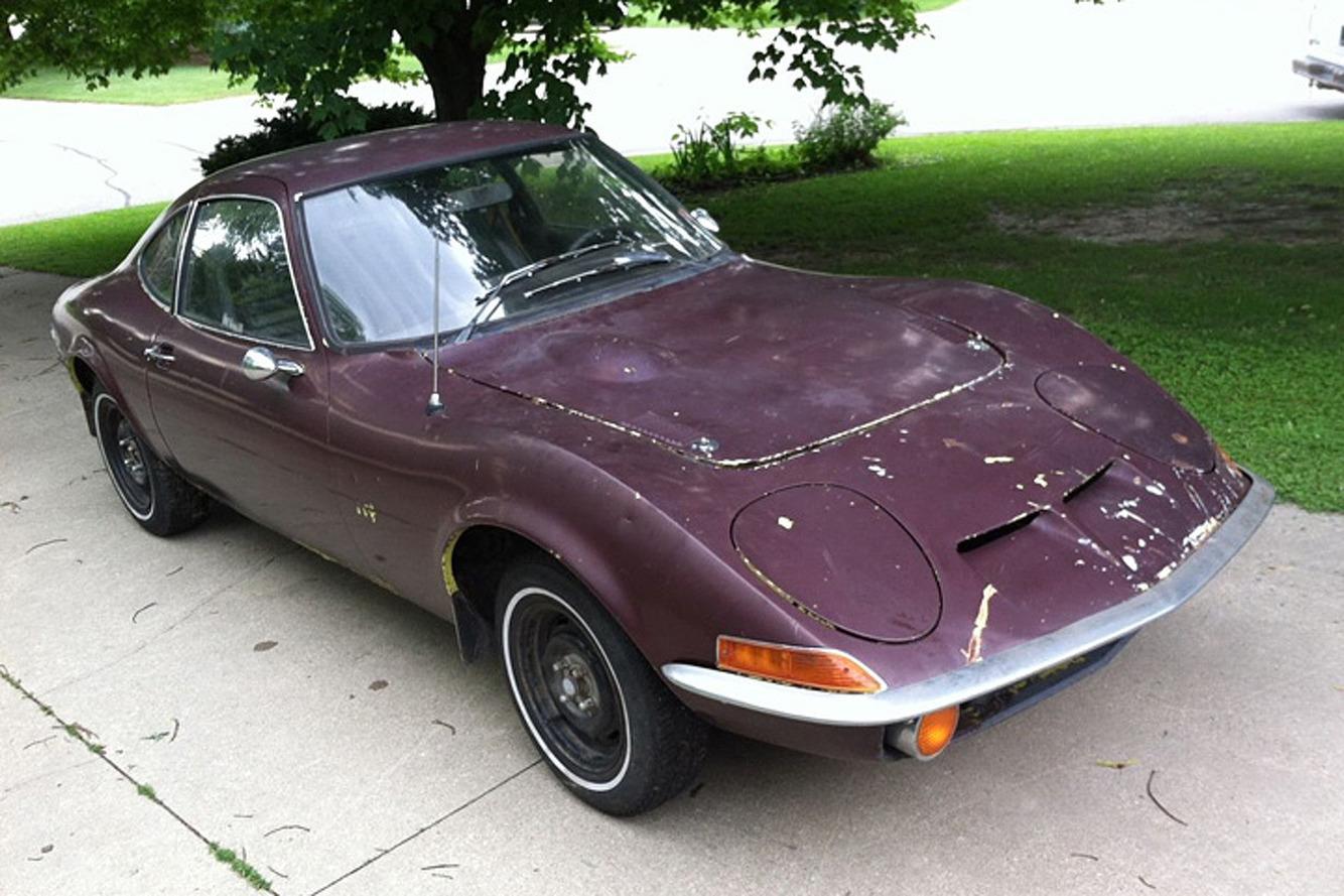 It's Not a Baby Corvette, It's a Barn Find Opel GT
