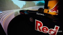 The state of the art Red Bull Racing simulator
