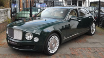 Bentley Mulsanne owned by Queen Elizabeth II