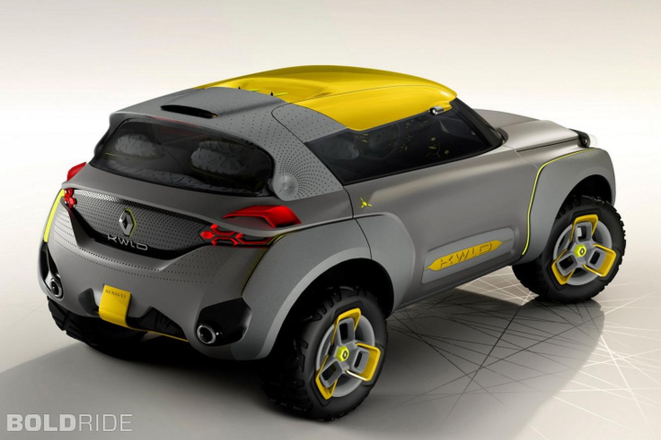 Renault, Kwid'in üretim modelini çıkarmayı planlıyor