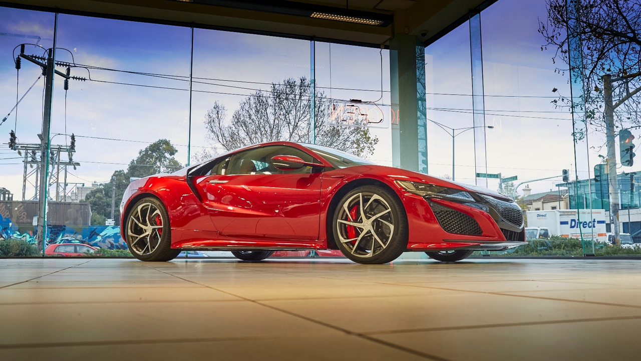 2017 Acura NSX lands in Australia