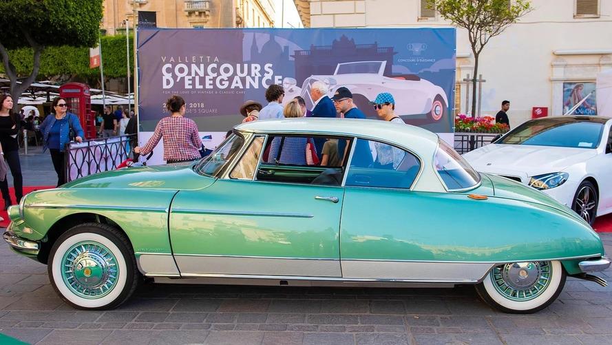 Une Citroën Le Paris 1960 honorée lors de l'édition 2018 du Concours de La Vallette