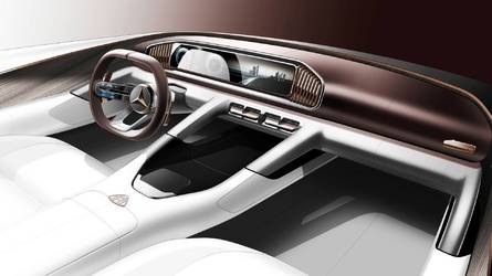 Fotón a Vision Mercedes-Maybach Ultimate Luxury utastere