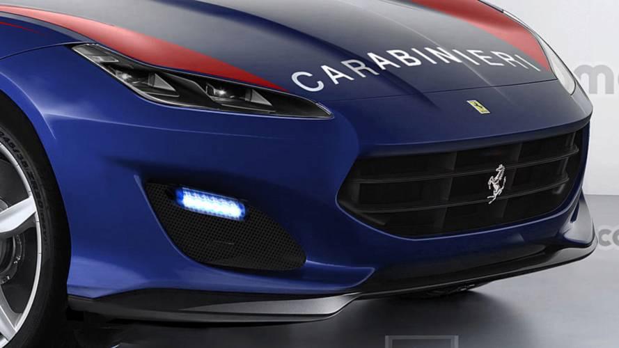 Il SUV Ferrari dei Carabinieri
