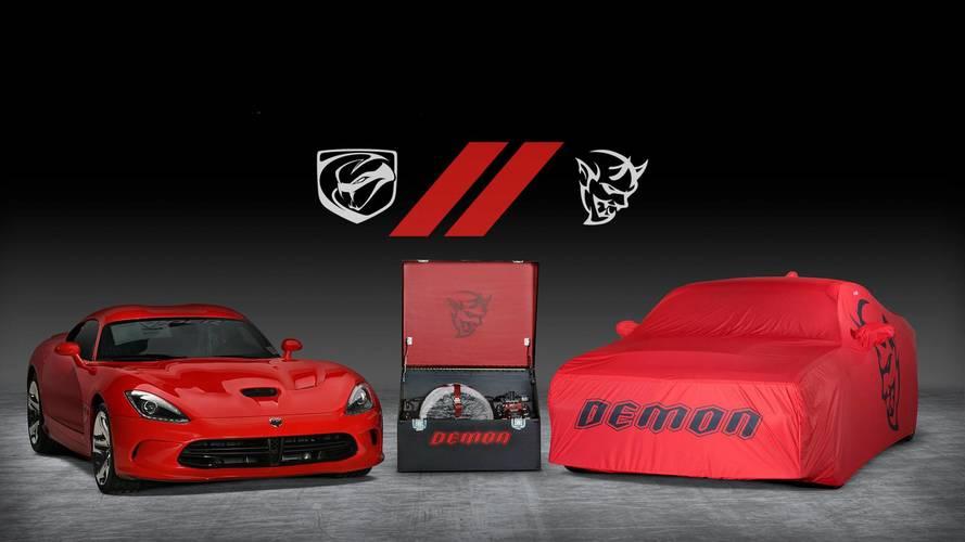 Sonuncu Dodge Demon ve Viper'a aynı anda sahip olabilirsiniz