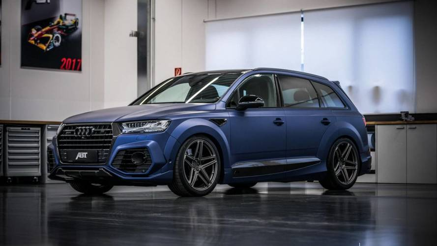 Audi SQ7 By ABT Detailed On Video: 765 LB-FT For $266,330