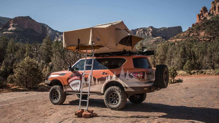 Nissan Armada Mountain Patrol Is Hardcore Camping Rig Of Your Dreams