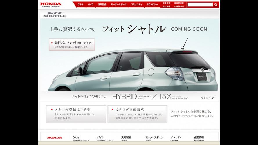 Honda Fit Shuttle: la Jazz si allunga