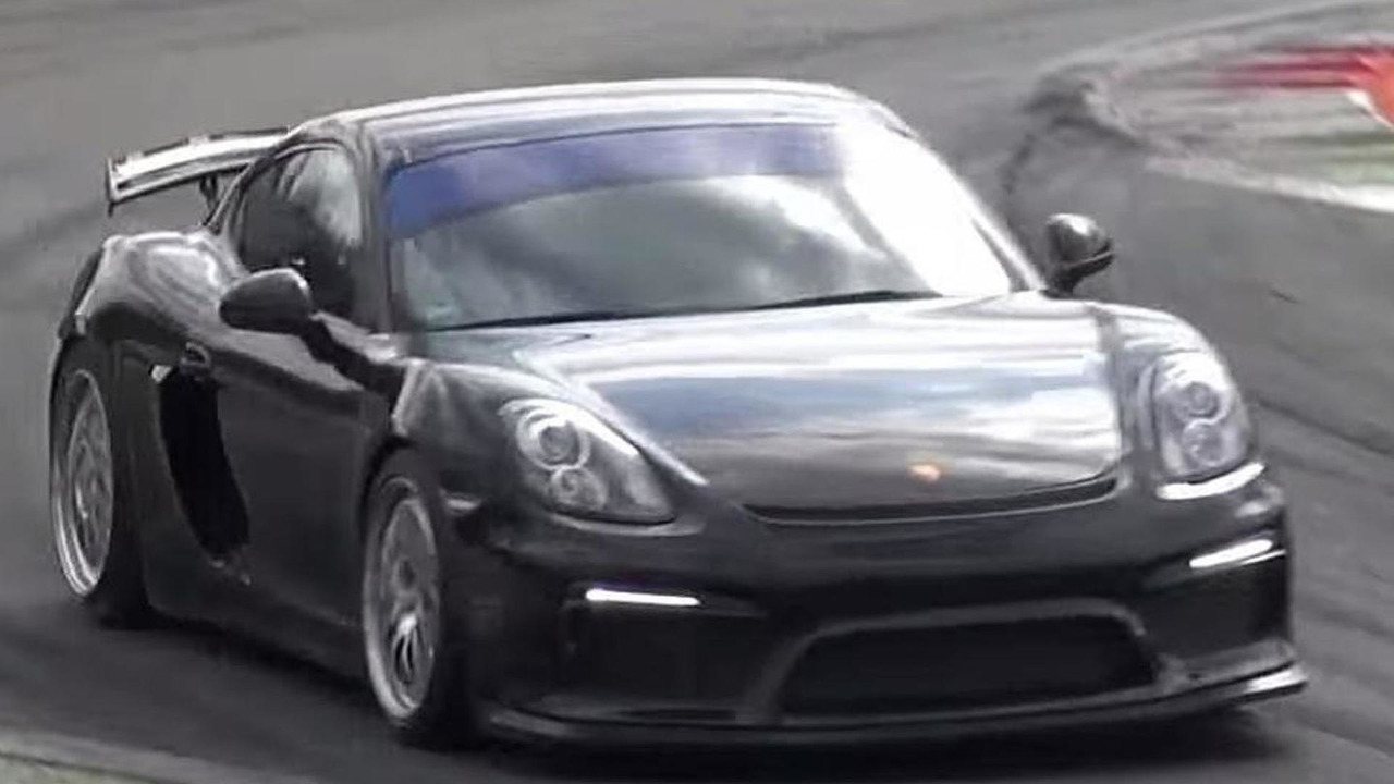 Track-only Porsche Cayman GT4 (not confirmed)