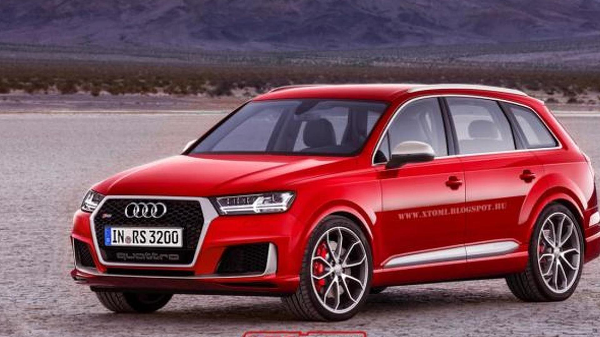 Неофициальное фото Audi RS Q7 X-Tomi Design