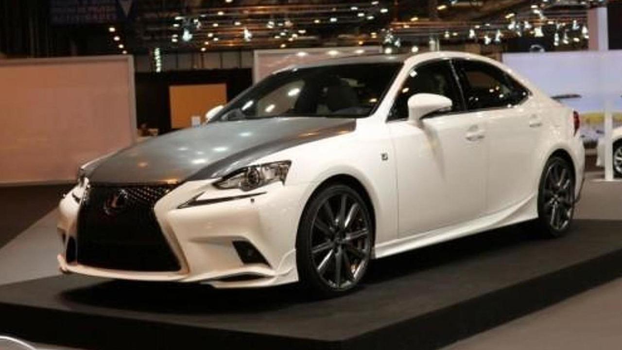 Lexus IS 25 Aniversario at 2014 Madrid Auto Show